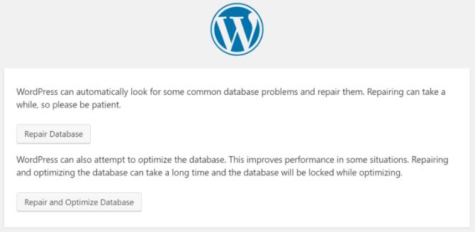 error establishing database connection reapair wp