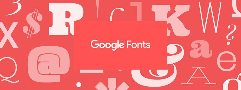 Las mejores 10 fuentes de Google Fonts para tu sitio