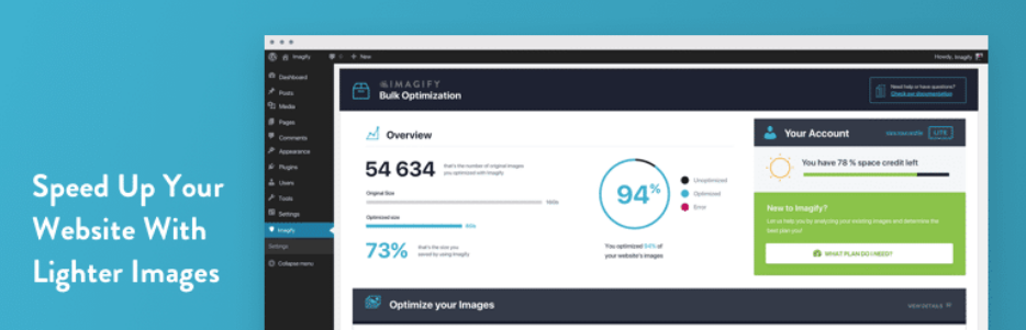 imagify plugin optimizador de imagenes