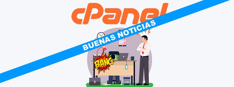 Acerca del cambio de precios en cPanel