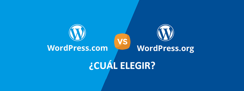 Cuál es mejor ¿WordPress.com o WordPress.org?