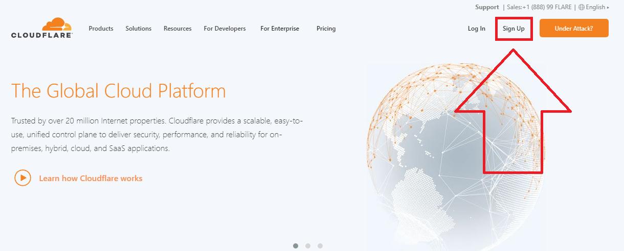 configurar cloudflare abrir cuenta