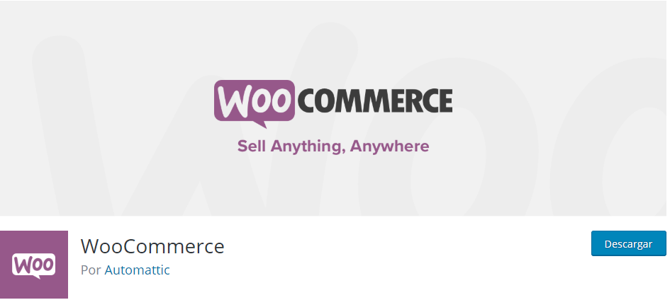 instalar woocommerce wordpress