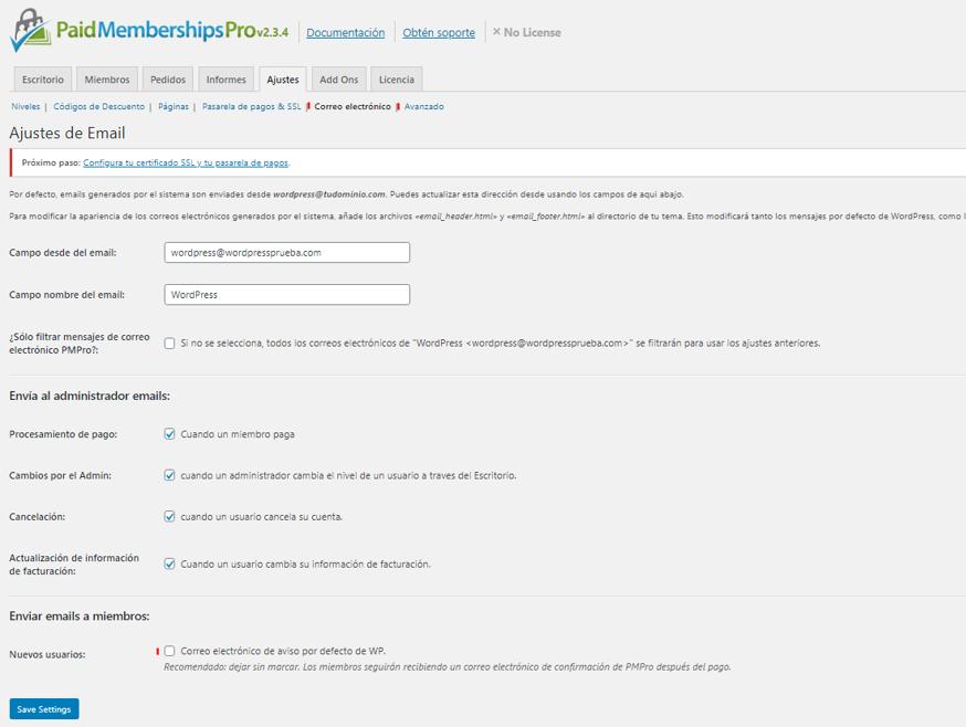 paso 12 de cómo crear un membership site en wordpress