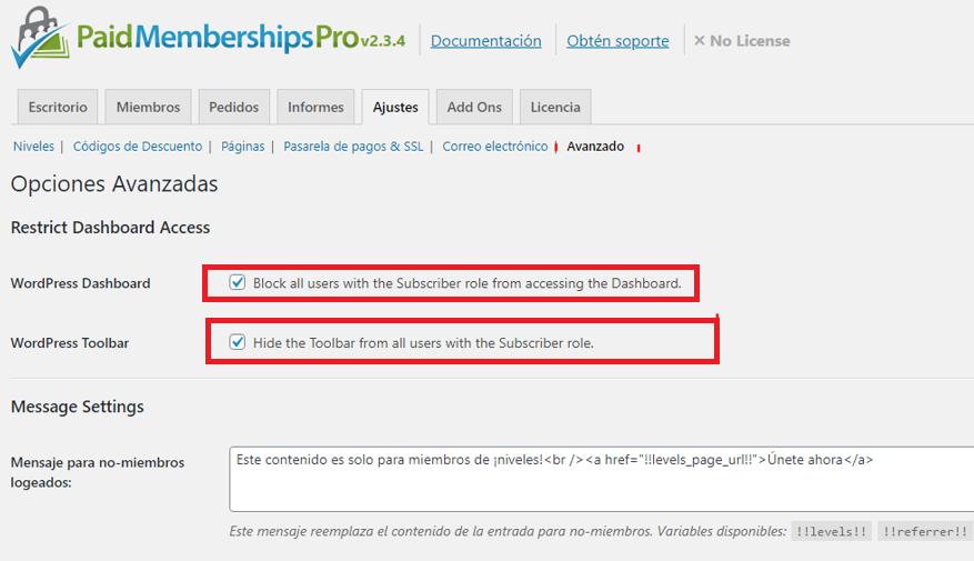 paso 13 de cómo crear un membership site en wordpress