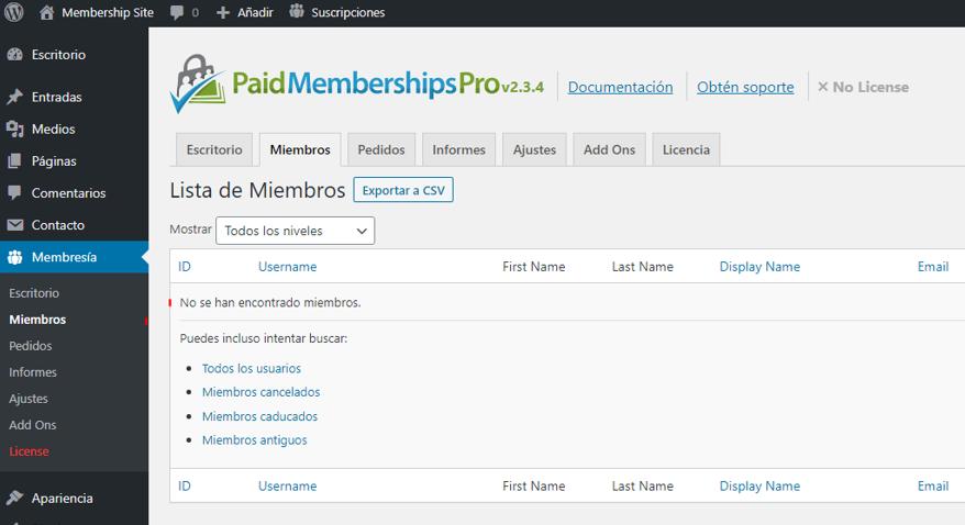 paso 14 de cómo crear un membership site en wordpress