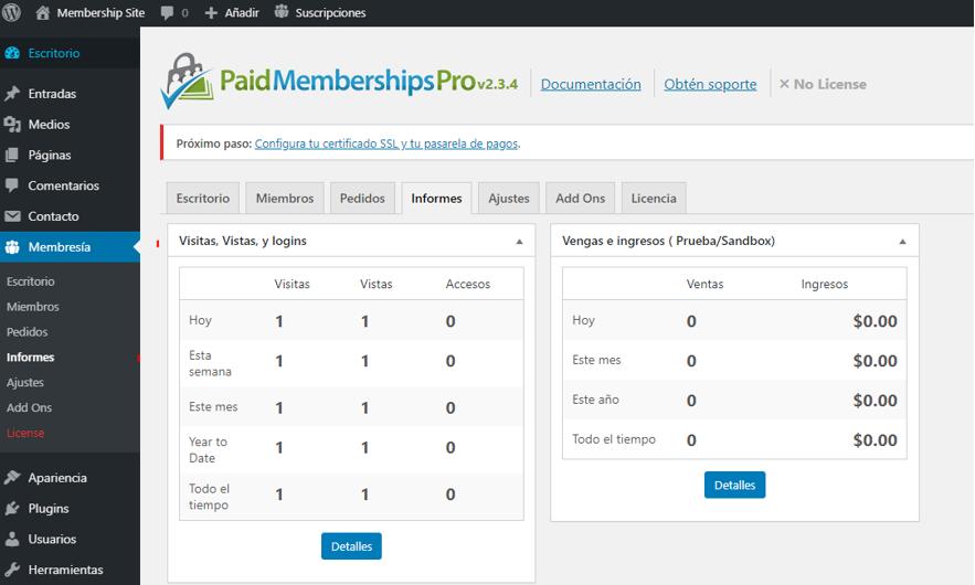 paso 15 de cómo crear un membership site en wordpress