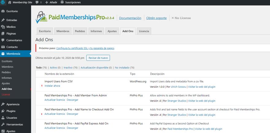 paso 17 de cómo crear un membership site en wordpress
