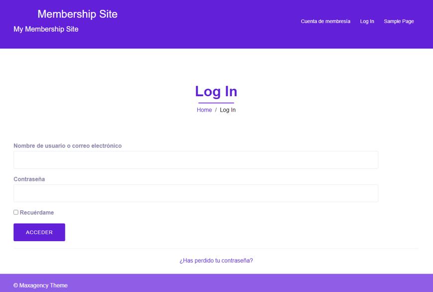 paso 18 de cómo crear un membership site en wordpress