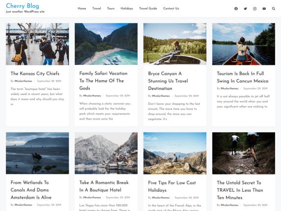 elige un theme para crear tu podcast wordpress