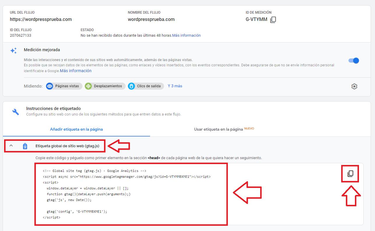 google analytics crear cuenta instrucciones 7