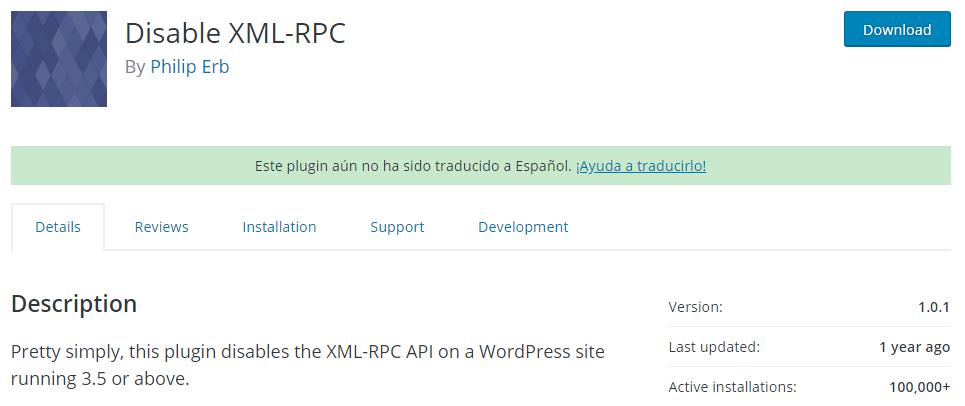 WordPress Xmlrpc.php que es como deshabilitarlo