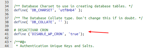 plugin cache hosting reducir carga wpcron
