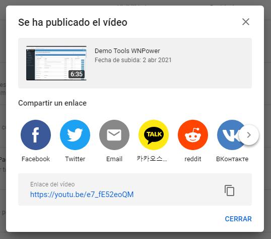 subir video youtube hosting ejemplo