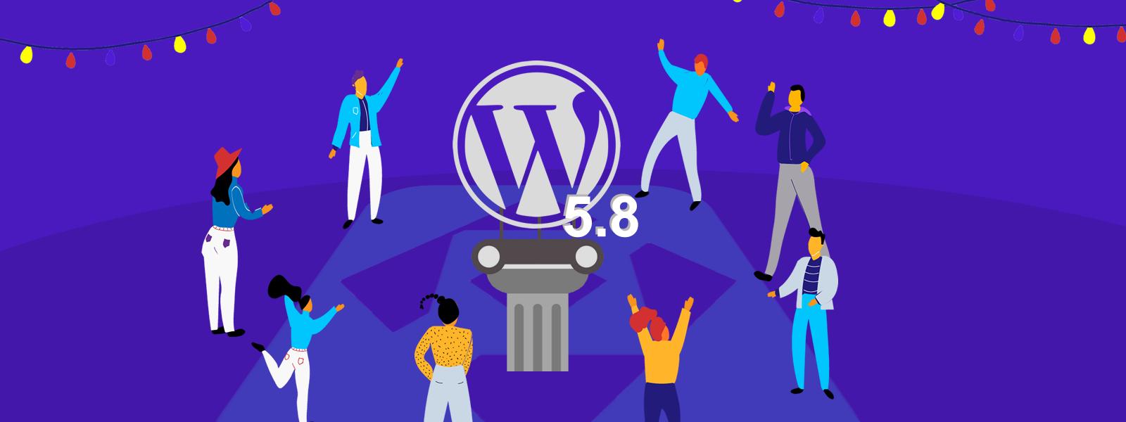 Ya salió WordPress 5.8