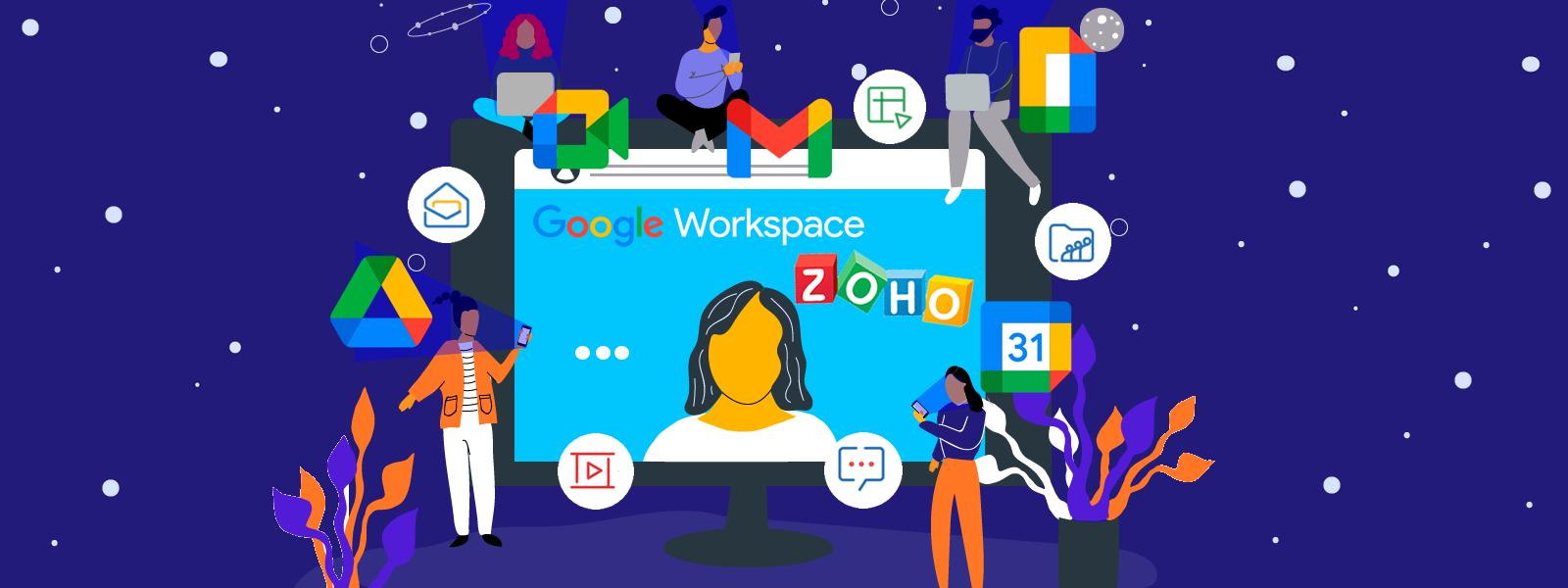 Beneficios de Google Workspace y Zoho: por qué considerarlos como complemento de tu hosting