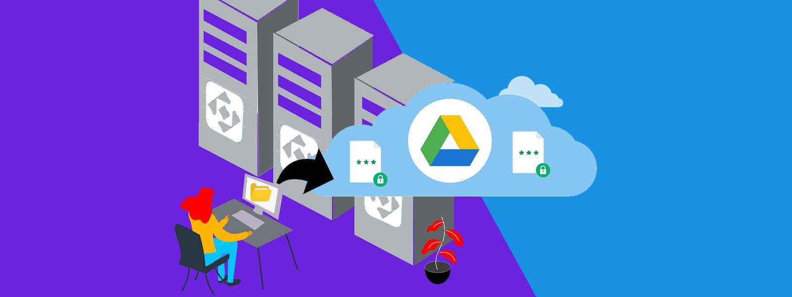 Por qué usar Google Drive para guardar archivos en lugar ocupar espacio de tu hosting