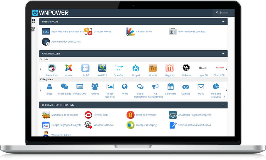 notebook hosting cpanel