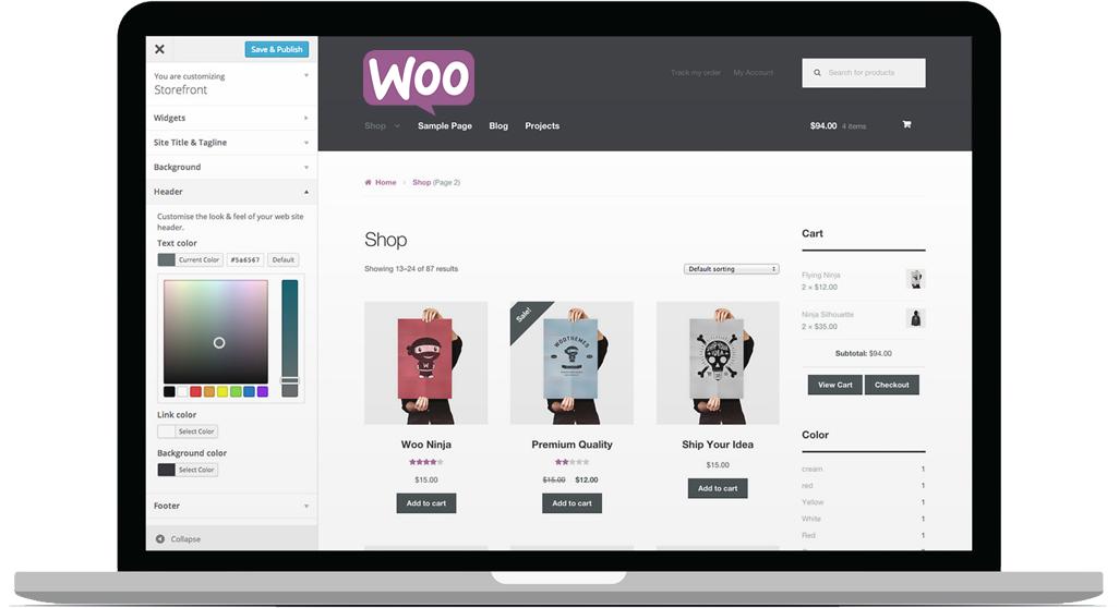 hosting woocommerce ecommerce tienda online alojamiento web